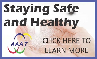 Link to staying safe and healthy page