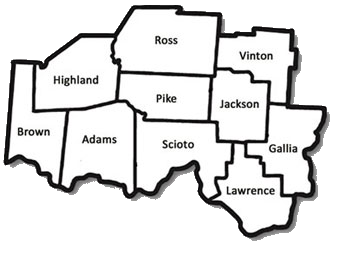 AAA7 Counties Map
